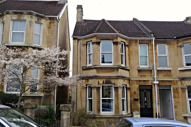 Thumbnail End terrace house for sale in Winchester Road, Oldfield Park, Bath