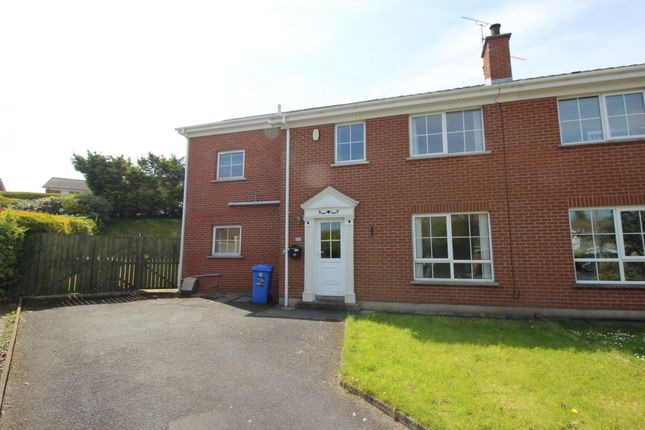 Thumbnail Semi-detached house for sale in Ivyhill Drive, Bangor