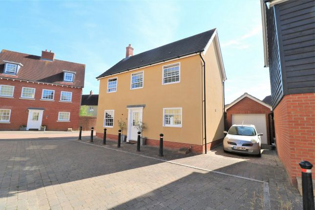 Thumbnail Detached house for sale in Carlton Mews, Wivenhoe, Colchester, Essex