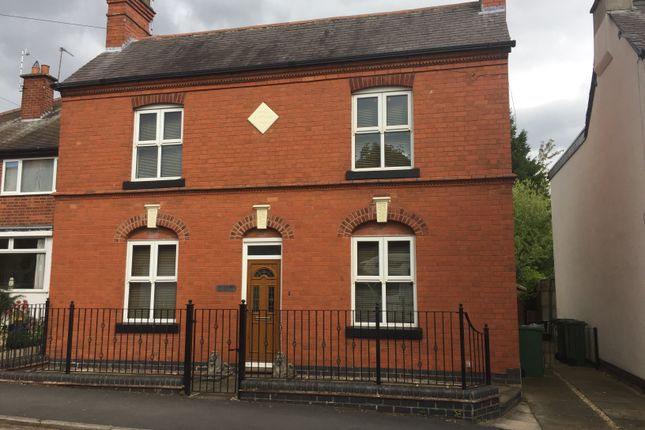 Thumbnail Detached house to rent in Castle Road, Kirby Muxloe