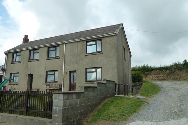 Thumbnail Semi-detached house to rent in Talog, Carmarthen
