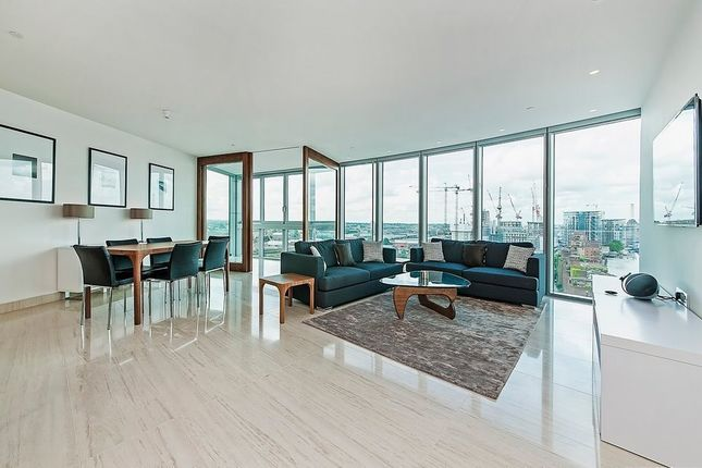 Thumbnail Flat for sale in The Tower, St George Wharf, Vauxhall