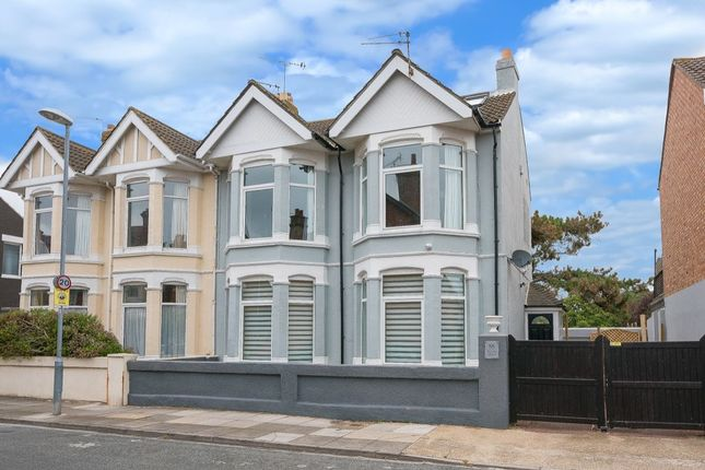 Thumbnail Semi-detached house for sale in Festing Grove, Southsea