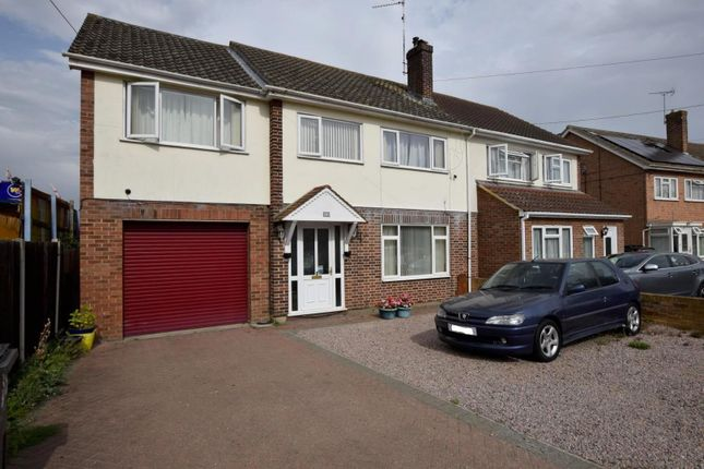Thumbnail Semi-detached house for sale in Maldon Road, Witham