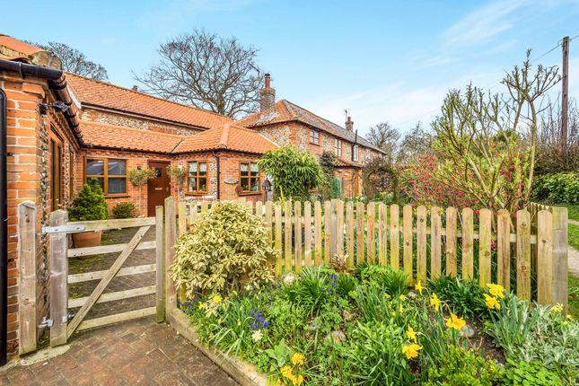 Thumbnail Cottage for sale in Mill Road, Bintree, Dereham