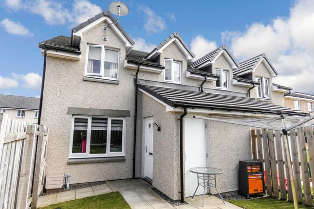 Thumbnail Town house for sale in Resaurie Gardens, Smithton, Inverness
