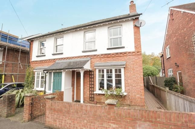 Thumbnail Semi-detached house for sale in West Byfleet, Surrey
