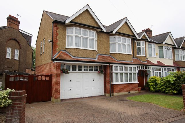 Thumbnail End terrace house for sale in Riverside Gardens, Enfield