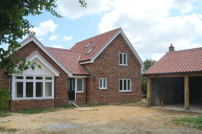 Thumbnail Detached bungalow for sale in Link Lane, Bentley, Suffolk
