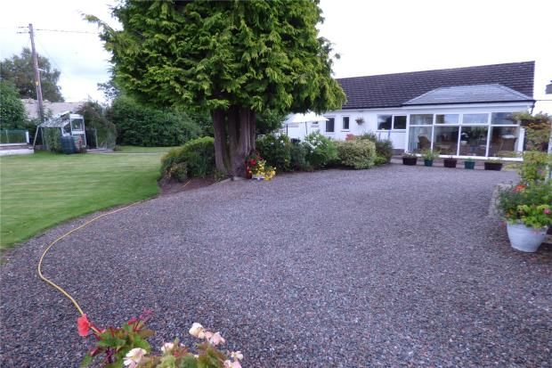 Thumbnail Detached bungalow for sale in Almara, Hunters Holme, Longtown, Cumbria