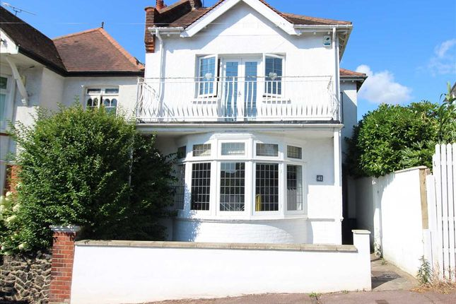 Thumbnail Detached house for sale in Cliff Road, Leigh-On-Sea