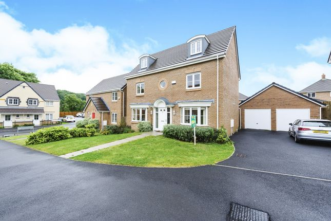 Thumbnail Detached house for sale in Cae Morfa, Skewen, Neath