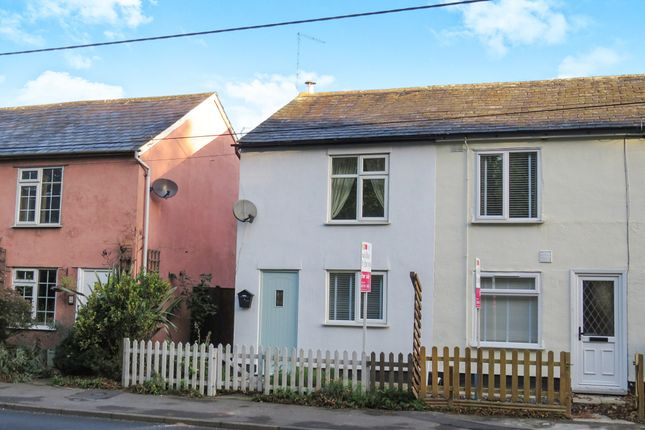 Thumbnail End terrace house for sale in Coggeshall Road, Bradwell, Braintree