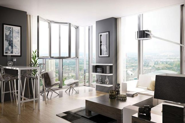Thumbnail Flat for sale in Stratosphere Tower, The Broadway, Stratford, London