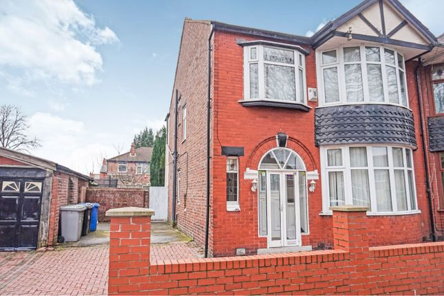 Thumbnail Semi-detached house for sale in Reynolds Road, Manchester