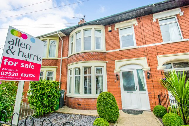 Thumbnail Terraced house for sale in Pantbach Road, Rhiwbina, Cardiff