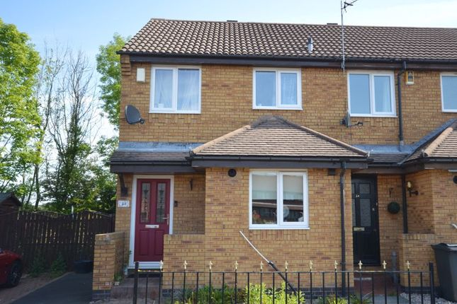 Thumbnail Terraced house for sale in Woodcroft Close, Annitsford, Cramlington