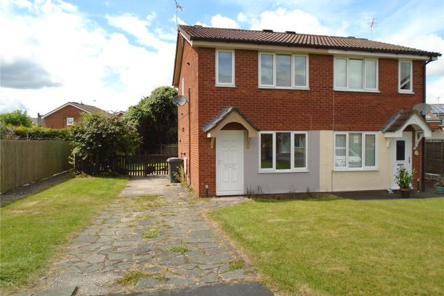2 bed semi-detached house to rent in Aston Close, Oswestry, Shropshire SY11