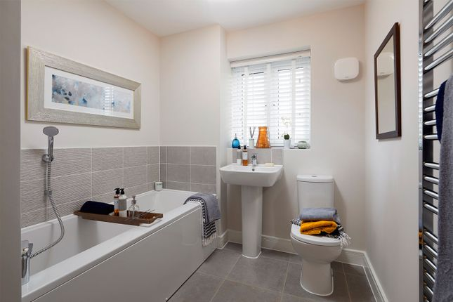 """Typical Bathroom of """"The Lutyens"""" at Coventry Road, Cawston, Rugby CV22"""