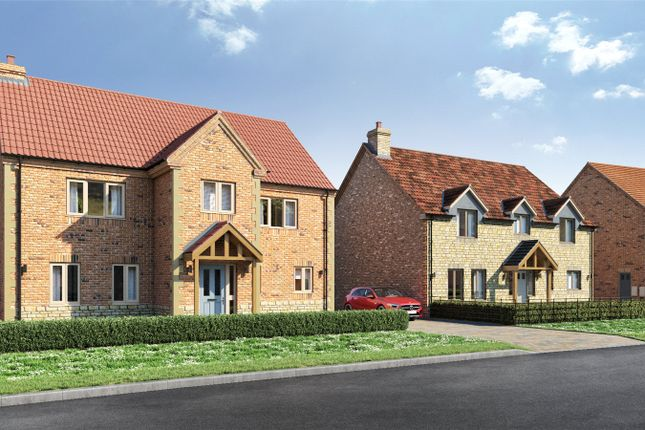 Thumbnail Detached house for sale in Plot 1, Cricketers Walk, 72 Scothern Road, Nettleham
