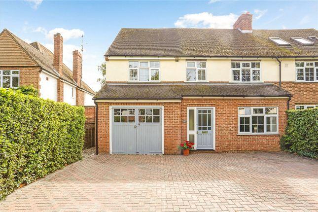 Thumbnail Semi-detached house for sale in Thorley Park Road, Bishop's Stortford, Hertfordshire