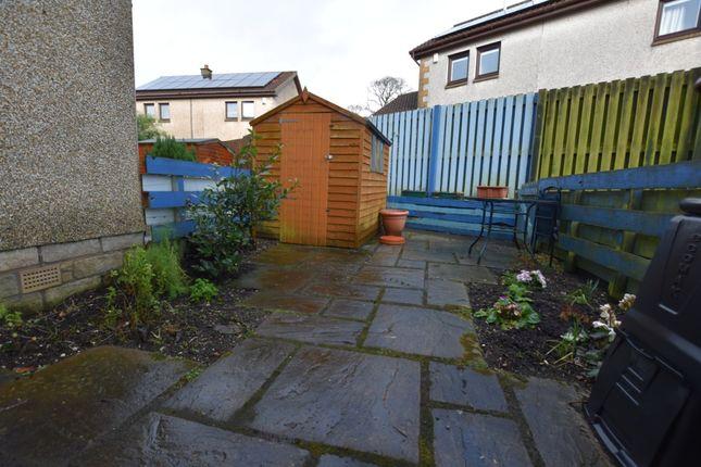 Garden of Sandport Close, Kinross KY13