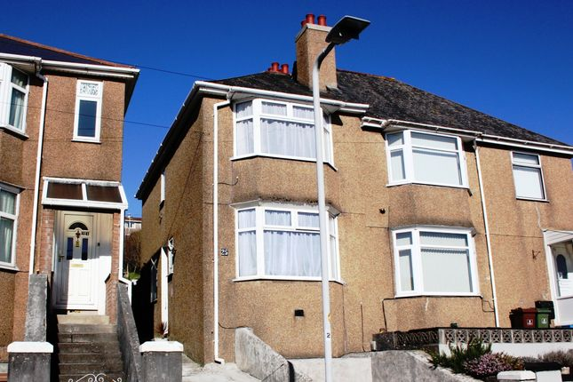 Thumbnail Semi-detached house for sale in Norfolk Road, Laira, Plymouth