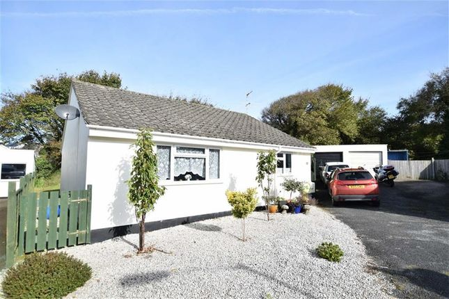 Thumbnail Detached bungalow for sale in Hallett Way, Bude