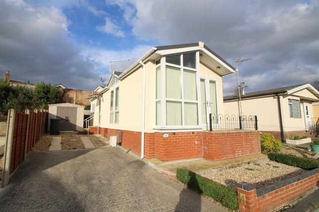 Thumbnail Mobile/park home for sale in Shirley Road, Upton Cross Caravan Park, Upton, Poole