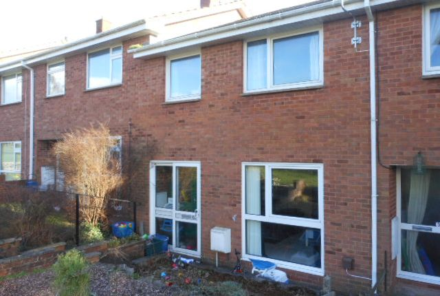 Thumbnail Terraced house to rent in Barn Park, Crediton
