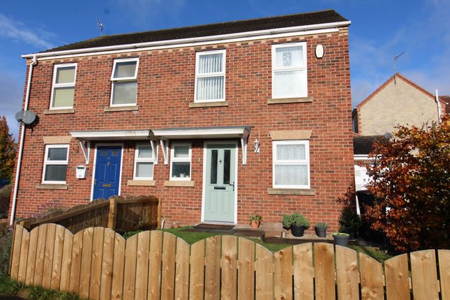 Thumbnail Semi-detached house for sale in Esh Wood View, Ushaw Moor, Durham