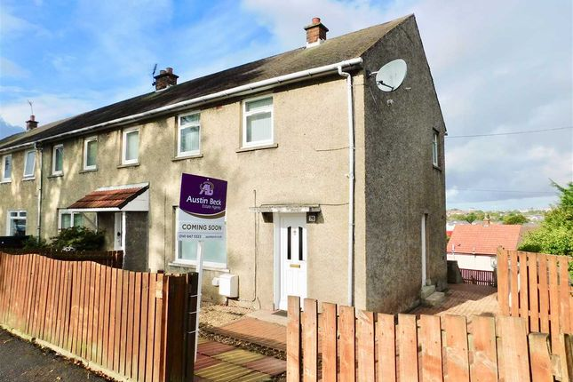 Thumbnail End terrace house for sale in Lochlea Road, Rutherglen, Glasgow