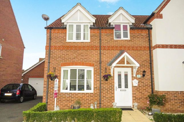 3 bed semi-detached house for sale in Benstead Close, Heacham, King's Lynn