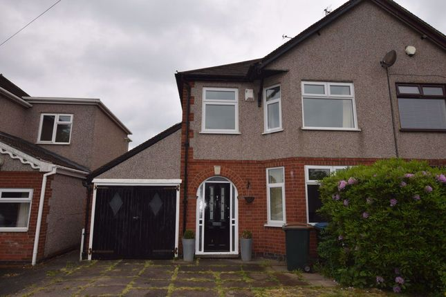 Thumbnail Semi-detached house to rent in Hollyfast Road, Coundon, Coventry