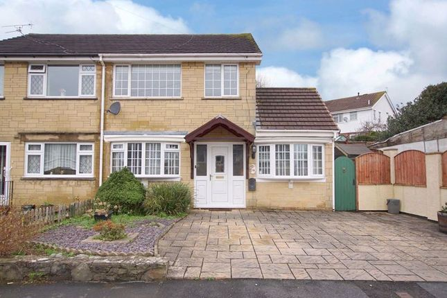 Thumbnail Semi-detached house for sale in Dyrham Close, Kingswood, Bristol