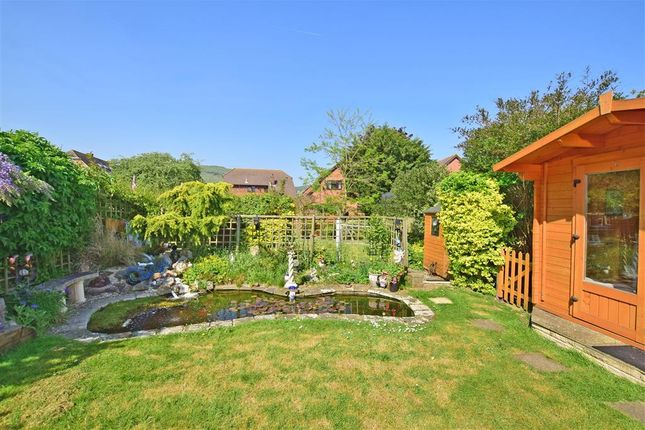 Rear Garden of Fairway Avenue, Folkestone, Kent CT19