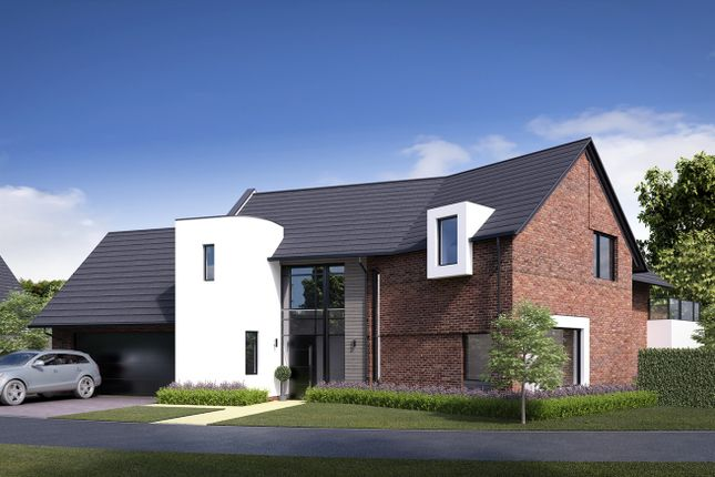 Thumbnail Detached house for sale in The Lakes, South Park Drive, Poynton