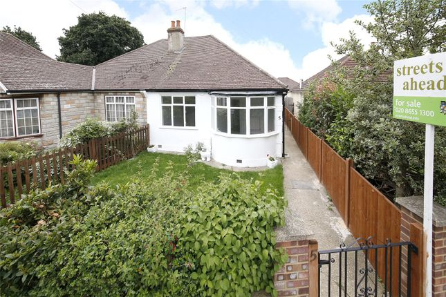 Thumbnail Semi-detached bungalow for sale in Bywood Avenue, Croydon