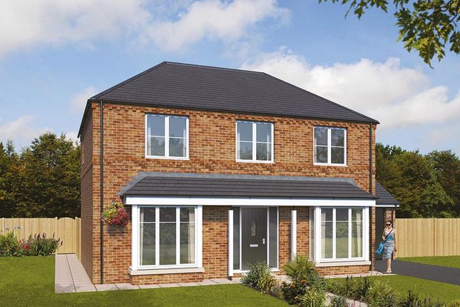 """Thumbnail Detached house for sale in """"The Pendlebury"""" at Pastures Road, Mexborough"""