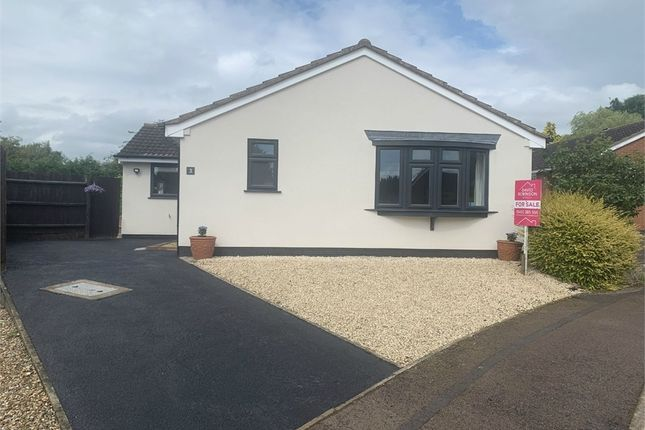 Thumbnail Detached bungalow for sale in Manor Farm Close, Broughton Astley, Leicester