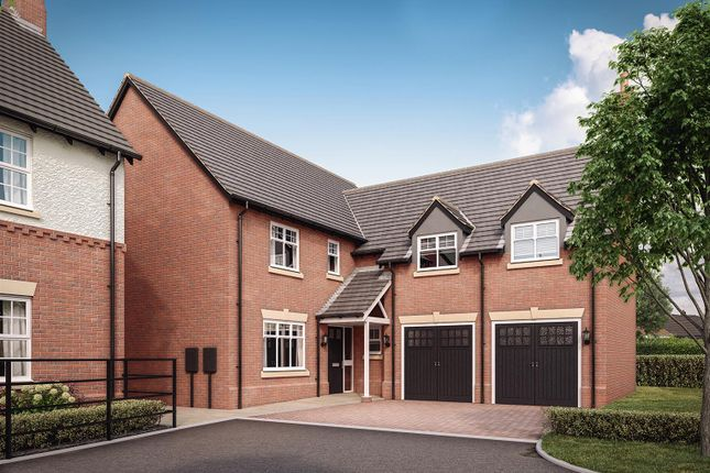 Thumbnail Property for sale in Heather Lane, Ravenstone, Coalville