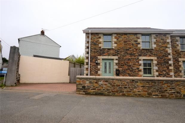 Thumbnail Semi-detached house for sale in Scowbuds, Tuckingmill, Camborne, Cornwall