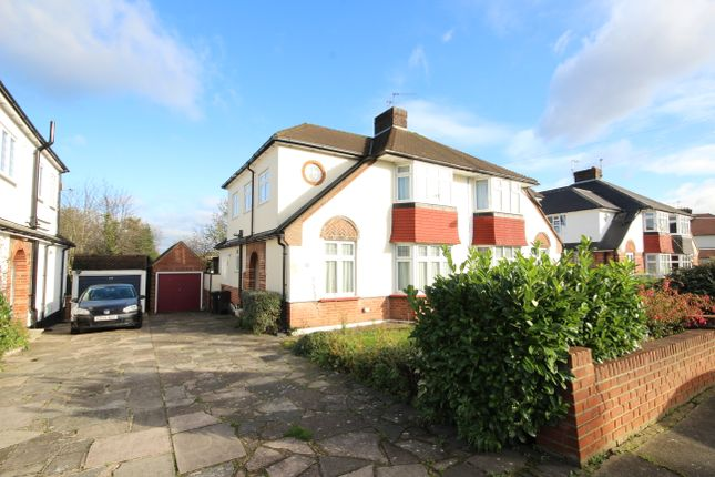 Thumbnail Semi-detached house to rent in Onslow Gardens, Grange Park