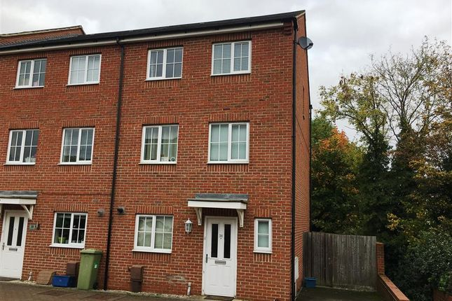 Thumbnail Town house to rent in Downing Close, Bletchley, Milton Keynes