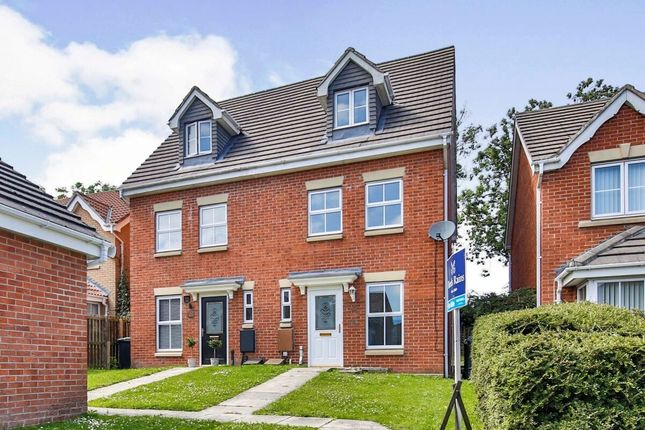 Thumbnail Semi-detached house for sale in Chapel Drive, Consett