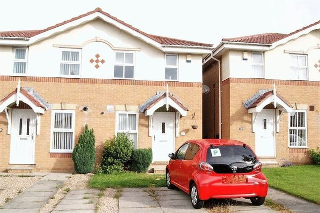 Thumbnail End terrace house to rent in Greenhills, Killingworth, Newcastle Upon Tyne