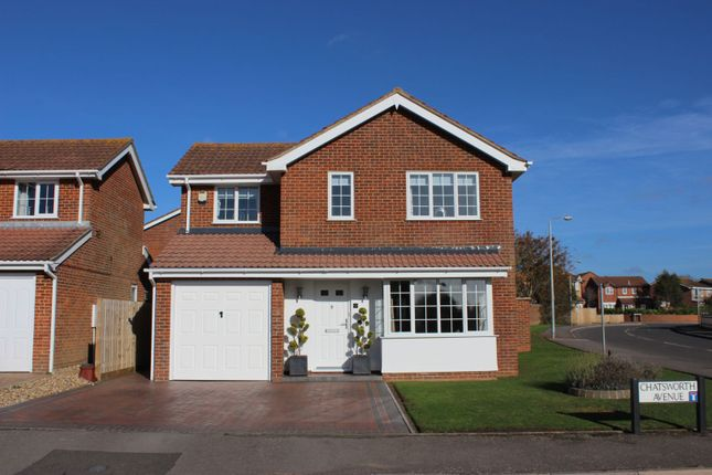 Thumbnail Detached house for sale in Chatsworth Avenue, Telscombe Cliffs