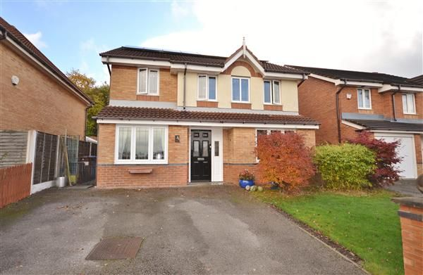 Thumbnail Detached house for sale in The Willows, Eaves Green, Chorley