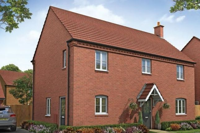 "Thumbnail Detached house for sale in ""The Holkham "" at Ashton Road, Roade, Northampton"