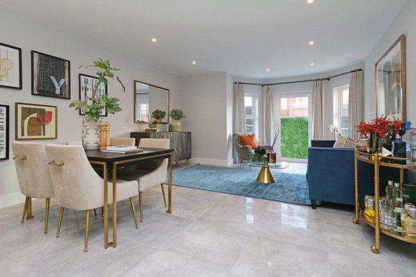 2 bed flat for sale in Primrose Court, Claybury, Bushey, Hertfordshire WD23
